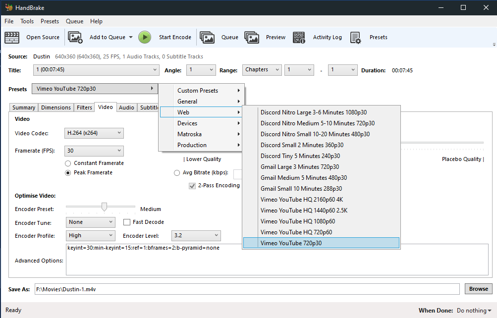 rtmp server media encoder